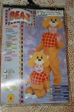 NEW - SOFT'N CUDDLY BEAR COSTUME & HEADPIECE - CHILD TODDLER SIZE 2-4 YEARS