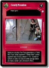 Star Wars CCG Endor DS Rare Security Precautions