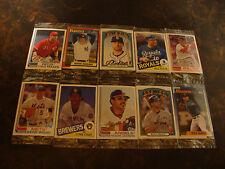 2013 Topps Archives Baseball---Week-2 Promo Cello Packs--Lot Of 10--5 Cards/Pack