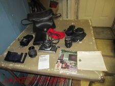 Vintage Asahi Pentax Spotmatic 35mm SP Camera with 2 Super Takumar Len's