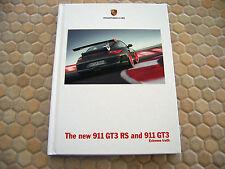 PORSCHE OFFICIAL 911 GT3 RS HARDBACK PRESTIGE BROCHURE 2010 USA EDITION