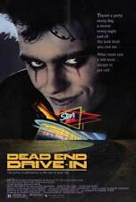 DEAD END DRIVE-IN Movie POSTER 27x40 Ned Manning Natalie McCurry Peter Whitford