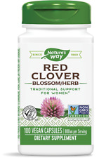 Nature's Way Red Clover Blossom/Herb 400mg 100 Veggie Capsules | Womens Health
