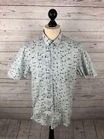 REISS Short Sleeved Shirt - XL - Great Condition - Men's