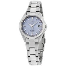 Citizen Chandler Blue Dial Titanium Ladies Watch EW2410-54L