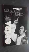 Revista Bi-Bono Opera Morzart Las Bodas Figaro Mayo/ Jun 1979 N º 21 Buen Estado