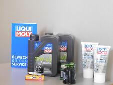 Sistema de mantenimiento GILERA NEXUS 300 Filtro aceite bujía Inspección