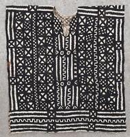 Textile weave antique tribal African Africa Mali Bogolan 1950