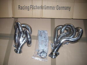 Collektor Fits Mercedes W124 300 E/TE/CE-24 3.4L M 104 Engine Stainlees Steel