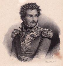 Général Pierre Yriex Daumesnil Périgueux Dordogne Napoléon Bonaparte 1833