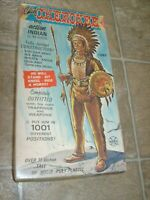 MARX Johnny West Chief Cherokee Parts Box and Paperwork  Cowboy Best of West
