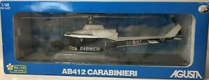 Rocco Giocattoli 1/48 August AB412 Canabinieri Police Helicopter 1:48