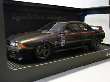 Ignition Model 1:18 Nissan Skyline GT-R Nismo S-tune R32 Gun Gray Met. IG0087