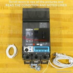 Square D HGA36060U53XEBLCYP Breaker, 60 Amp, 35 kA, LSI Energy, TESTED, NEW