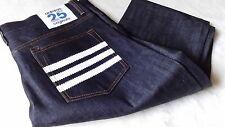 adidas originals nigo25, W34, L32. RAW BLUE DENIM. 100% cotton. (rrp £74.99).