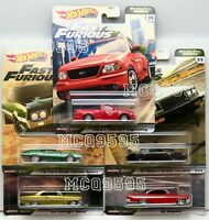 HOT WHEELS 2020 FAST & FURIOUS MOTOR CITY MUSCLE SET OF 5 CAR CHEVY FORD BUICK