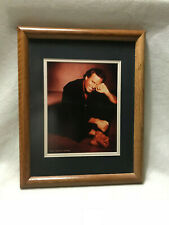 FRAMED AND MATTED PICTURE OF JULIO IGLESIAS BY RANDEE ST. NICHOLAS