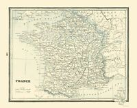 France - Rathbun 1893 - 23.00 x 29.25