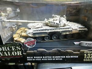 FORCES OF VALOR IRAQI T-72 TANK BAGHDAD 2003 1/32 DIE CAST METAL NIB
