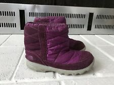 The North Face Kids Winter Camp Boot Size 9 Purple