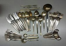 Auerhahn 90 Besteck 90er Silberauflage 66-tlg versilbert