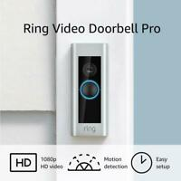 Ring Video Doorbell Pro - 1080HD Video - Motion Activated Alerts - Amazon Alexa