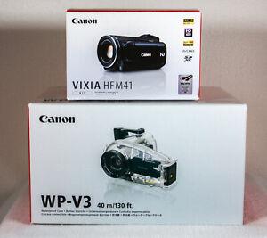 Canon VIXIA HF M31 32 GB High Definition Flash Media AVC Camcorder & WP-V3 case