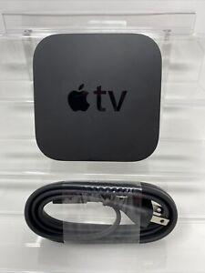 Apple TV 4th Generation A1625 Black Streaming Media Unit 32GB HDMI W/ Power Cord
