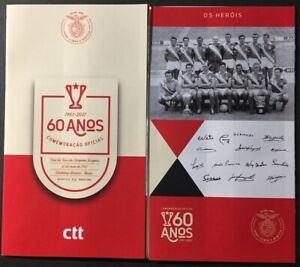 Portugal 2021 - 60 Years Benfica's European League Victory booklet MNH
