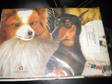 "Dachsund? Spaniels DOG BreedGift Wrapping Paper 4 Sheets 19.5"" x 27.5"" Gift Wrap"