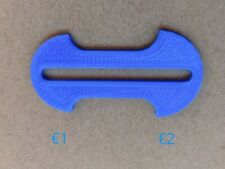 Removable shopping trolley token/key €1&€2