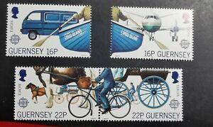 Guernsey 1988 Transport and Communication set  MUH B31