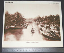 PHOTO 1930 COLONIES FRANCE INDOCHINE COCHINCHINE THUDUC / PAGODE TAP-PHUC