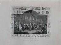 1860 William Hogarth 5 Imágenes Análisis De Belleza Sancho Starved Physician