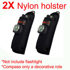 2X Nylon Holster Holder Belt Pouch Cover Case Bag For Newest Cree Flashlights