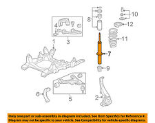 Cadillac GM OEM 2006 STS Front Suspension-Strut 19300078