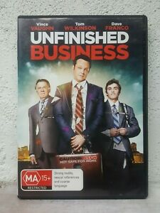 Unfinished Business (DVD, 2015) Vince Vaughn, Dave Franco Comedy Movie