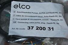 ELCO 3720031 ANSCHLUSSKABEL PUMPE ALPHA AUF RAST-5-PE 2M ANSCHLUSS-KABEL NEU