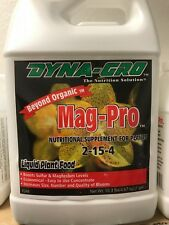 Dyna Gro Mag Pro 128 oz Gallon - liquid nutrient magnesium supplement bloom