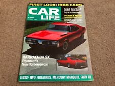 AUG 1967 car LIFE vintage car magazine - BARRACUDA SX - DUNE BUGGIES