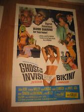 Ghost In The Invisible Bikini Movie Poster 11x17 Mini Poster