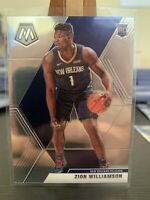 2019-20 Panini Mosaic Zion Williamson Rookie Base #209 New Orleans Pelicans RC 3