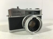 Minolta Hi Matic 9 Camera Easy Flash Vintage