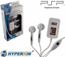 CASE OF 20 EA NEW PSP 2000/3000 SKYPE HEADPHONES WITH REMOTE