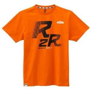 KTM R2R Ready To Race Tee Orange L 2018 Style Collection 3PW1866304