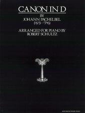 Canon In D (Advanced Piano Solo) Pachelbel, J Arr. Schultz, R Piano Solo