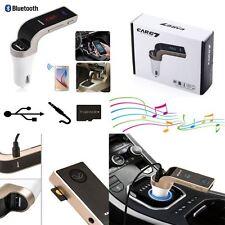 Bluetooth Car Kit Wireless FM Transmitter USB LCD Charger Radio MP3 Player