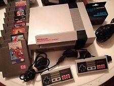 Nintendo Entertainment System NES Mario Bundle NEW 72 PIN REFURB!