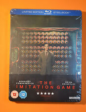 The Imitation Game Steelbook Bluray UK Edition Region B New and Sealed