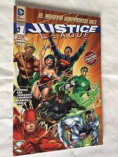 JUSTICE LEAGUE nr 1 con POSTER ed LION 2012 DC ORIGINALE 1^ ed. HAWKMAN